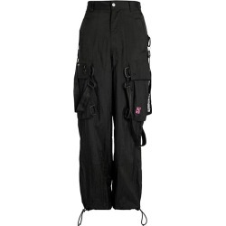Off-White Men's Bondage Cargo Pants - Black White - Size 34 found on MODAPINS from Saks Fifth Avenue for USD $479.99