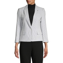 Striped Notch-Lapel Blazer found on Bargain Bro Philippines from Saks Fifth Avenue OFF 5TH for $64.99