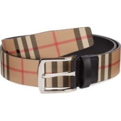 London Check Leather Belt found on Bargain Bro Philippines from Saks Fifth Avenue AU for $350.40