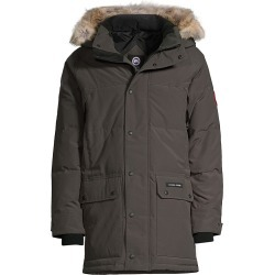 Canada Goose Men's Emory Coyote Fur Hooded Parka - Graphite - Size Large found on MODAPINS from Saks Fifth Avenue for USD $1195.00