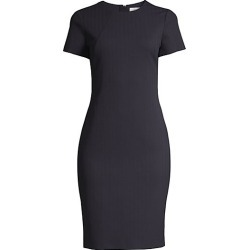 BOSS Women's Dijersa Structured Herringbone Jersey Stretch Dress - Midnight - Size 8 found on MODAPINS from Saks Fifth Avenue for USD $198.99