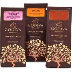 Chocolatier Three-Flavour Ground Coffee Variety Set