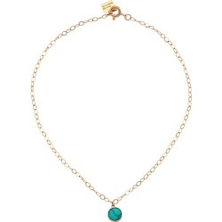 Ginette NY Women's Ever 18K Rose Gold & Turquoise Pendant Anklet - Rose Gold found on MODAPINS from Saks Fifth Avenue for USD $495.00