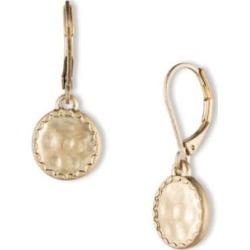 Pendants d'oreilles circulaires à bordure festonnée found on Bargain Bro Philippines from La Baie for $22.00