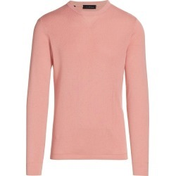 Saks Fifth Avenue Men's COLLECTION Solid Crew Sweater - Tea Rose - Size Medium found on Bargain Bro India from Saks Fifth Avenue for $228.00