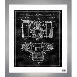 Oliver Gal Framed Sauer Camera 1962 Print - Silver found on Bargain Bro India from Saks Fifth Avenue for $256.00