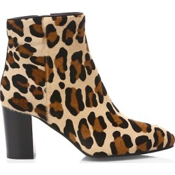 Florita Leopard-Print Calf Hair Ankle Boots found on Bargain Bro from Saks Fifth Avenue Canada for USD $218.67