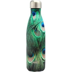 Flora Fauna Peacock Water Bottle/17 oz. found on Bargain Bro India from Saks Fifth Avenue Canada for $41.65