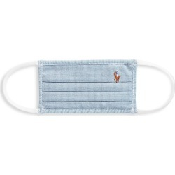 Ralph Lauren Kid's Polo Striped Face Mask - Blue found on Bargain Bro India from Saks Fifth Avenue for $20.00