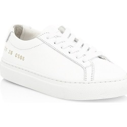 Common Projects Little Kid's & Kid's Original Achilles Leather Low-Top Sneakers - White - Size 33 EU (1.5 Child US) found on MODAPINS from Saks Fifth Avenue for USD $296.00