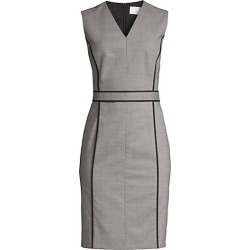 BOSS Women's Doretti Piped Wool-Blend Dress - Black Fantasy - Size 8 found on MODAPINS from Saks Fifth Avenue for USD $219.09