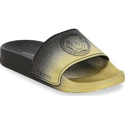 Versace Little Boy's & Boy's Logo Slides - Black - Size 36 EU (4 Child US) found on Bargain Bro India from Saks Fifth Avenue for $190.00