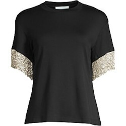 Alexis Women's Olinda Fringe Tee - Black - Size XS found on MODAPINS from Saks Fifth Avenue for USD $269.50