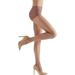 Natori Women's Silky Sheer Tights - Honey - Size Medium