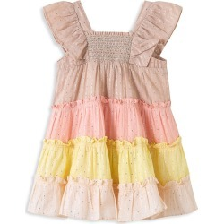 Peek Baby Girl's Caroline Tiered Dress - Size 6-12 Months found on MODAPINS from Saks Fifth Avenue OFF 5TH for USD $24.99