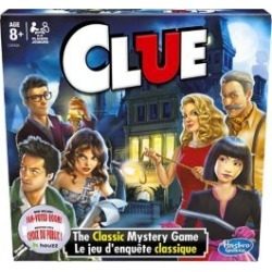 Clue Board Game found on GamingScroll.com from The Bay for $16.79