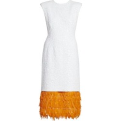Beaded Feather-Hem Cocktail Dress found on Bargain Bro Philippines from Saks Fifth Avenue Canada for $1593.27
