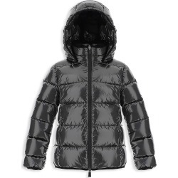 Herno Girl's Laminar Bomber Shiny Nylon Parka - Silver - Size 14 found on MODAPINS from Saks Fifth Avenue for USD $780.00