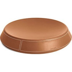 Ralph Lauren Brennan Large Leather Catchall Tray - Brown