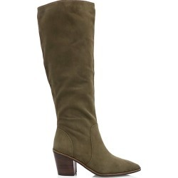 Cole Haan Women's Willa Knee-High Suede Boots - Green - Size 5