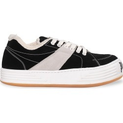 Palm Angels Men's Colorblock Suede Sneakers - Black White - Size 8 found on MODAPINS from Saks Fifth Avenue for USD $339.50