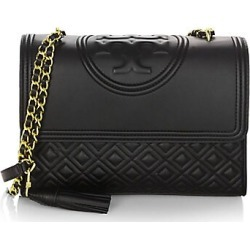 Tory Burch Women's Fleming Leather Shoulder Bag - Black found on Bargain Bro Philippines from Saks Fifth Avenue for $498.00