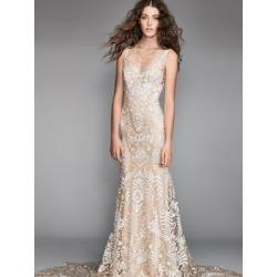 Robe de mariée ajustée et évasée Corella