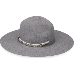Eugenia Kim Women's Emmanuelle Embellished Wool Felt Hat - Grey found on MODAPINS from Saks Fifth Avenue for USD $435.00