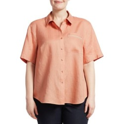Justice Linen Blouse found on Bargain Bro India from Saks Fifth Avenue Canada for $339.01