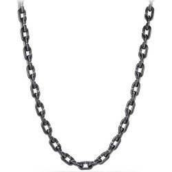 David Yurman Men's Chain Link & Black Titanium Narrow Necklace - Silver found on MODAPINS from Saks Fifth Avenue for USD $2400.00
