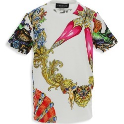 Versace Little Kid's and Kid's Tresor de la Mer T-Shirt - White Multi - Size 8 found on Bargain Bro from Saks Fifth Avenue for USD $231.80