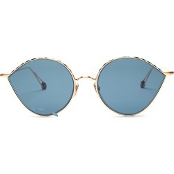 Ahlem Women's Place Vauban 52MM Cat Eye Sunglasses - Rose Gold found on MODAPINS from Saks Fifth Avenue for USD $470.00