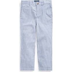 Boy's Stretch Seersucker Skinny Pants