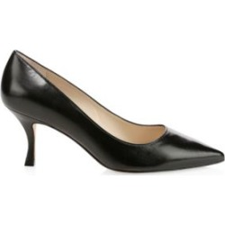 Tippi Curved-Heel Leather Pumps found on MODAPINS from Saks Fifth Avenue Canada for USD $149.28