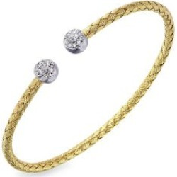 Bebe Crystal Cuff Bangle Bracelet found on Bargain Bro India from The Bay for $160.00