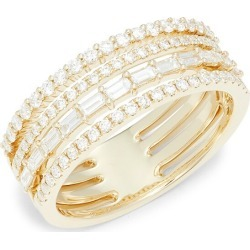 Saks Fifth Avenue Women's 14K Yellow Gold & Diamond Ring/Size 7 - Size 7 found on Bargain Bro Philippines from Saks Fifth Avenue OFF 5TH for $1408.00