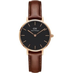 Classic Petite St. Mawes Black, Rose Goldtone and Leather Strap Watch, 28mm found on Bargain Bro India from Lord & Taylor for $159.00