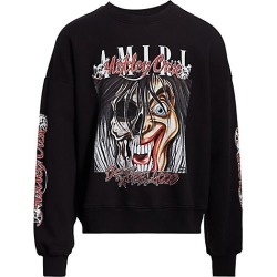 Amiri Men's Motley Crewneck Sweatshirt - Black - Size Medium found on MODAPINS from Saks Fifth Avenue for USD $355.50