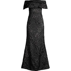 Aidan Mattox Women's Embellished Off-The-Shoulder Long Dress - Black - Size 2 found on MODAPINS from Saks Fifth Avenue for USD $395.00