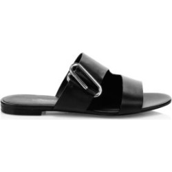 Alix Leather Slide Sandals found on MODAPINS from Saks Fifth Avenue UK for USD $421.88