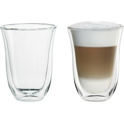 Delonghi 2-Pack Latte Glass Set found on Bargain Bro India from Saks Fifth Avenue for $21.95