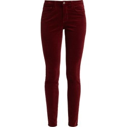 Marguerite High-Rise Velvet Skinny Pants