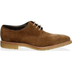 Baldwin Suede Derbys found on MODAPINS from Saks Fifth Avenue AU for USD $222.36