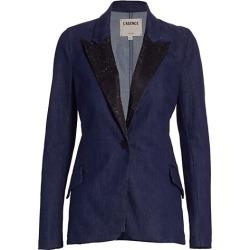 Baldwin Embellished Denim Blazer found on MODAPINS from Saks Fifth Avenue AU for USD $367.01