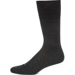 Falke Men's No. 6 Finest Merino & Silk Socks - Charcoal - Size XL found on MODAPINS from Saks Fifth Avenue for USD $60.00