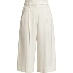 Brunello Cucinelli Women's Wool Pleated Bermuda Shorts - Winter White - Size 2 found on MODAPINS from Saks Fifth Avenue for USD $758.00