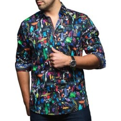 Chemise à imprimé found on Bargain Bro Philippines from La Baie for $103.35