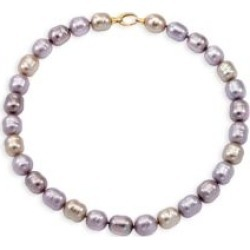 18K Yellow Goldplated & 14MM Multicolor Organic Man-Made Baroque Pearl Strand Necklace found on Bargain Bro Philippines from Saks Fifth Avenue Canada for $415.13