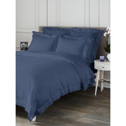 Saks Fifth Avenue Butterfly Flange Duvet - Blue - Size King found on Bargain Bro from Saks Fifth Avenue for USD $188.10