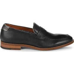 Johnston & Murphy Men's Milliken Penny Leather Loafers - Navy - Size 11.5 found on Bargain Bro from Saks Fifth Avenue OFF 5TH for USD $49.39